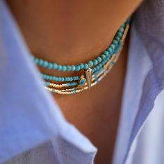 """Résultat de recherche d'images pour """"collier turquoise"""""""