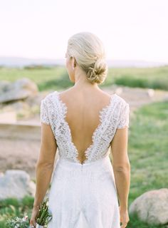 Carolina Herrera Bride: Sarah Wragge in the 'Claudette' gown