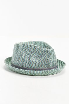 Bailey Of Hollywood Mannes Mint Straw Fedora Hat