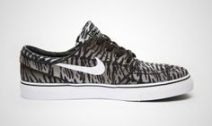 Nike SB Stefan Janoski Tiger Stripe Brown / Black