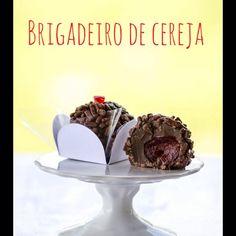 Brigadeiro de cereja - Maria arteira
