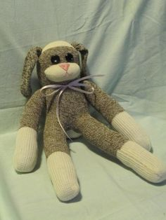 Sock monkey rabbit