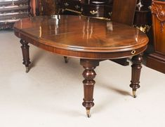 Antique Victorian Oval Dining Table Circa 1860 & 8 Bar Back Dining Chairs Buy Dining Table, Extendable Dining Table, Dining Set, Dining Chairs, Table And Chair Sets, Side Chairs, Victorian, Bar