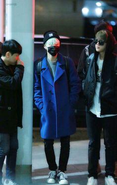 [AIRPORT] 160119: BTS Suga (Min Yoongi) ft. Jin (Kim Seokjin) #bts #bangtanboys…