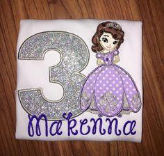 Princess Sofia birthday shirt