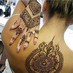 Tatuajes de henna: imágenes, diseños, como hacerlos y cuidarlos | Tatuajes para Mujeres