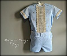 Pedro.1T to 6Y.Boy Outfit.ShirtShort by Moniquesthingsshop on Etsy