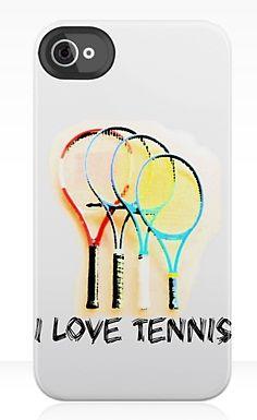 I Love Tennis iPhone Case ~ Trendy Tennis - Tennis Fashion Blog