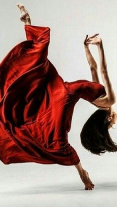 Dancing in a Red Dress ♥