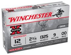 Winchester Super-X Buckshot Shotshells - .410 Gauge -000 Buckshot - 5 Rounds #Ammunition #Ammo #CheapAmmo #CheapAmmunition