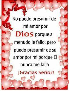 Muchas, muchas gracias mi Buen y Hermoso DIOS ❤❤