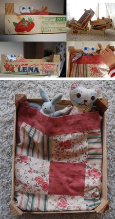 1000 images about cajas de madera on pinterest - Manualidades con cajas de madera ...