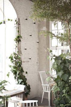 Host Restaurant: Rustic Scandinavian Interior by Norm Architects – Design. Design Hotel, Restaurant Design, Deco Restaurant, Terrace Restaurant, Brick Interior, Cafe Interior, Interior And Exterior, Interior Architecture, Interior Design