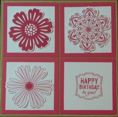 Mixed bunch Stampin'Up
