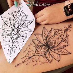 (notitle) - Tattoos - Titel tattoo tattoo tattoo calf tattoo ideas tattoo men calves tattoo thigh leg tattoo for men on leg leg tattoo Hamsa Tattoo, Lotusblume Tattoo, Lotus Mandala Tattoo, Arrow Tattoo, Lotus Tattoo Design, Flower Tattoo Designs, Tattoo Designs For Women, Mommy Tattoos, Tattoos For Guys