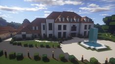 Birchwood Manor Minecraft Project