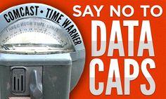 "Comcast tells government that its data caps aren't actually ""data caps"""