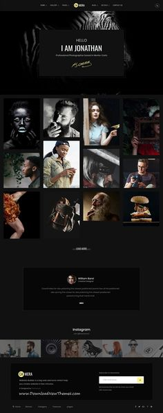 Camera is clean and modern design responsive #HTML5 bootstrap #theme for creative #photography and #photographers beautiful website with 14 light and dark homepage layouts to download & live preview click on image or Visit #webdesign