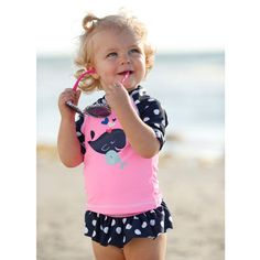 adorable swim suit! would match the pottery barn bag and towel!