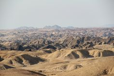 Moon Landscape - Namibia