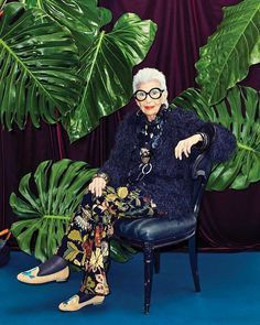 Iris Apfel: Words of wisdom from a 'geriatric starlet' - CNN Style