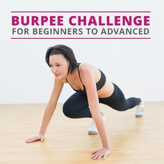 50 Burpee Challenge (Beginner and Advanced) #burpeechallenge #burpees #fitnesschallenge