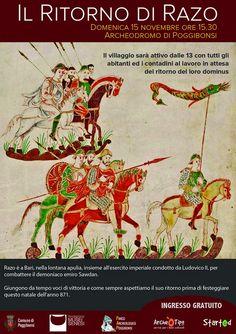 MedioEvo Weblog: Il ritorno di Razo all'Archeodromo di Poggibonsi (SI)