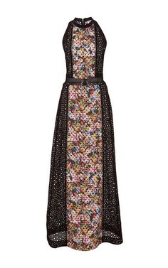 Alyss Broderie Anglaise Dress by MARY KATRANTZOU Now Available on Moda Operandi