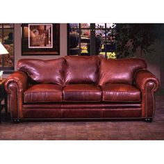Found It At Wayfair   Omnia Furniture Monte Carlo Leather Sleeper  Loveseathttp://www