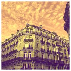 More stop-and-stare architecture set against another amazing sky in Paris.