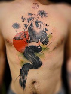 Amazing tattoo art of Xoïl | inkntell