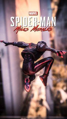 Miles Spiderman, Miles Morales Spiderman, Black Spiderman, Spiderman Spider, Amazing Spiderman, Marvel Comic Universe, Marvel Art, Marvel Heroes, Marvel Avengers