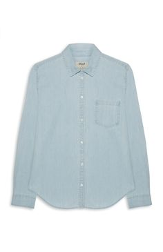 Primark - Blue Denim Wash Shirt