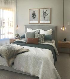 Schlafzimmer 35 The Best Small Master Bedroom Design Ideas WIth Farmhouse Style Parenting the Attach Small Master Bedroom, Master Bedroom Makeover, Master Bedroom Design, Master Bedrooms, Master Suite, Condo Bedroom, Home Decor Bedroom, Bedroom Ideas, Sage Bedroom