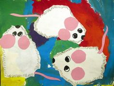 "From exhibit ""Second Grade: Mouse Paint"" by Madison4575"