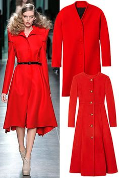 Get the Look: 10 Key Pieces - The Red Coat