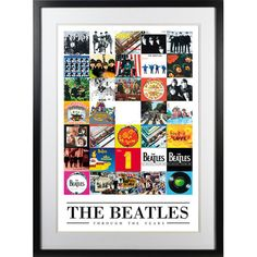 Gefunden bei Wayfair.de - Gerahmter Grafikdruck The Beatles