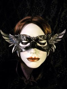 WIN THIS MASK! Score this gorgeous handmade mask from Artsmyths Studio, just in time for Halloween!   the Year of Living Fabulously