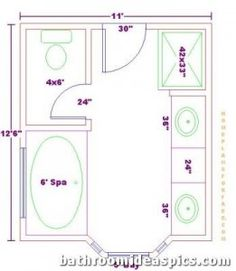 Important Floor Plan Decision Choosing The Floor Plan For Your Entire House  Can Be A Challenge · Small Master BathMaster ...