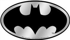 Licenses Products DC Comics Batman Logo Chrome Sticker >>> More details @