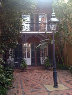 New Orleans -- 722 Toulouse, Where Tennessee Williams had an apartment and wrote at least one short story.