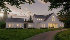 FourPlans: Sleek Farmhouse Designs | Builder Magazine | Plans, Design, Exteriors