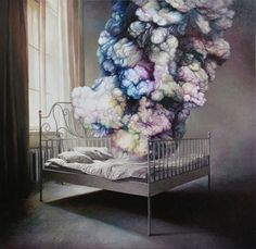 Dreaming in Color: Paintings by Shang Chengxiang #painting #art