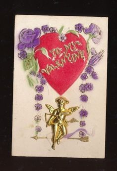 Antique novelty postcards