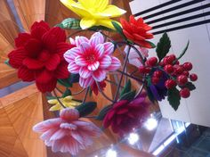 Flower Chandelier Auckland Art Gallery, Flower Chandelier, Floral Wreath, Wreaths, Flowers, Home Decor, Floral Chandelier, Floral Crown, Decoration Home