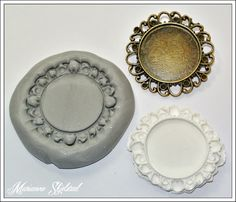 Mariannes papirverden.: Tutorial - Silikon molds. Make your own molds from silicon and cast clay figures etc.