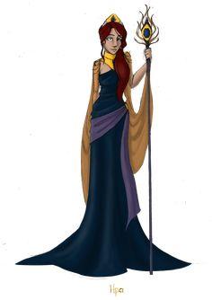 Greek Goddess: Hera by JadeAriel.deviant... on @deviantART