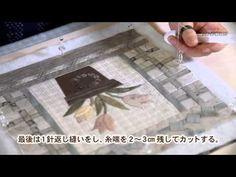 [NHK出版]斉藤謠子 キルトの花束 - YouTube