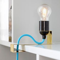 A.M.L. Clamp Light by Andreas Martin-Löf