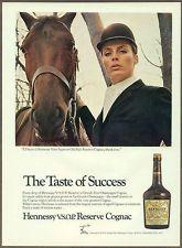 Hennessy Cognac 1968 Magazine Print Ad